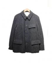 copano86(コパノ)の古着「ウールツイードジャケット」|グレー