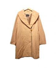 Loungedress(ラウンジドレス)の古着「ショールカラーコート」|ピンク
