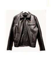 Schott(ショット)の古着「ボアライナー付レザージャケット」|ブラック