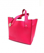 FURLA(フルラ)の古着「ハンドバッグ」|ショッキングピンク
