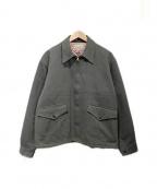 BUTCHER PRODUCTS(ブッチャープロダクツ)の古着「キルティングライナージャケット」|オリーブ