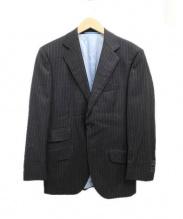 HACKETT(ハケット)の古着「2Bテーラードジャケット」|グレー