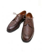 Lloyd Footwear(ロイドフットウェア)の古着「Vチップシューズ」|ブラウン