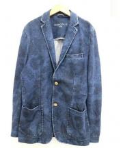 Circolo 1901(チルコロ 1901)の古着「インディゴジャージー2Bジャケット」|インディゴ
