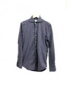 finamore(フィナモレ)の古着「ホリゾンタルカラーシャツ」