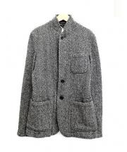 COMME des GARCONS HommePlus(コムデギャルソン・オム・プリュス)の古着「ツイードジャケット」|グレー