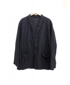 COMOLI(コモリ)の古着「タイプライターシャツジャケット」|ブラック