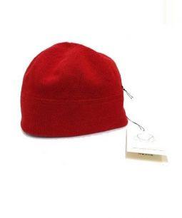SCHA(シャ)の古着「ニット帽」|レッド