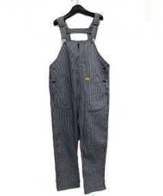 NATAL DESIGN(ネイタルデザイン)の古着「センタージップヒッコリーオーバーオール」