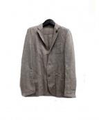LARDINI(ラルディーニ)の古着「リネン混2Bジャケット」
