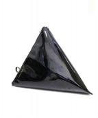 B印YOSHIDA(B印ヨシダ)の古着「三角ポーチ」|ブラック