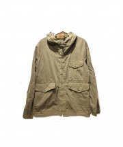 C.P COMPANY(シーピーカンパニー)の古着「フーデットミリタリージャケット」 オリーブ