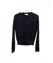 PRADA(プラダ)の古着「カーディガン」|ブラック