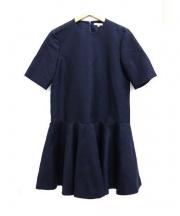 23区×RITA(ニジュウサンク×リタ)の古着「フレアワンピース」|ネイビー