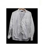 COMME des GARCONS HOMME PLUS(コムデギャルソンオムプリュス)の古着「ジップアップシャツ」|ホワイト