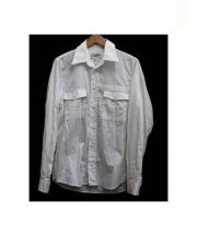 Martin Margiela(マルタンマルジェラ)の古着「REPLICA Workers shirt」|ホワイト