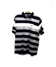 dunhill(ダンヒル)の古着「ボーダーポロシャツ」