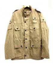 Barbour(バブアー)の古着「ノンオイルドジャケット」|カーキ