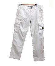 STONE ISLAND(ストーンアイランド)の古着「Cuffed Cargo Pants」|ベージュ