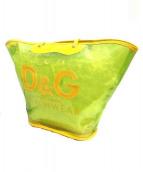 D&G(ディーアンドジー)の古着「クリアバッグ」|イエロー