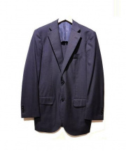 TOMORROW LAND PILGRIM(トゥモローランド ピルグリム)の古着「サマーウール2Bジャケット」|ネイビー