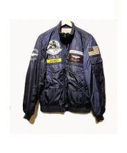 AVIREX(アヴィレックス)の古着「ミリタリージャケット」|ネイビー