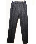TOGA VIRILIS(トーガ ヴィリリース)の古着「ウールパンツ」 ブラック
