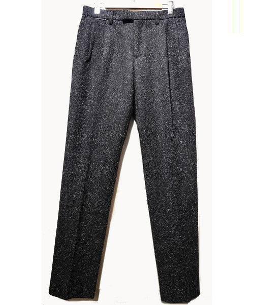 TOGA VIRILIS(トーガ ヴィリリース)TOGA VIRILIS (トーガ ヴィリリース) ウールパンツ ブラック サイズ:48の古着・服飾アイテム