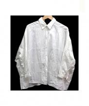 JUNYA WATANABE COMME des GARCONS(ジュンヤワタナベ コムデギャルソン)の古着「オーバーサイズシャツ」|ホワイト