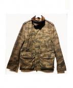 JACOB COHEN(ヤコブコーエン)の古着「カモフラージュフィールドジャケット」|カーキ