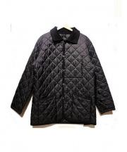 GRENFELL(グレンフェル)の古着「キルティングジャケット」|ブラック
