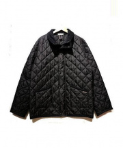 LAVENHAM×MensBIGI(ラベンハム×メンズビギ)の古着「キルティングジャケット」|ブラック