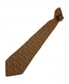CHANEL(シャネル)の古着「ゴールドチェーン付ネクタイ」|カーキ