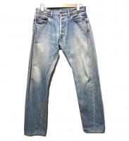 UNUSED(アンユーズド)の古着「セルビッチデニムパンツ」