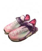 adidas×PHARRELL WILLIAMS(アディダス×ファレル・ウィリアムス)の古着「スニーカー」|ピンク