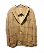 Circolo 1901(チルコロ 1901)の古着「2Bジャケット」|ベージュ