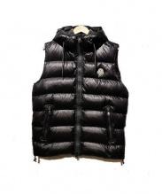 MONCLER(モンクレール)の古着「フード付きダウンベスト」|ブラック