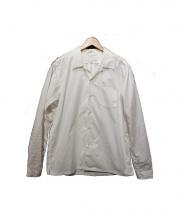 nanamica(ナナミカ)の古着「ウィンドシャツ」|ホワイト