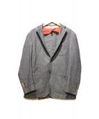 L.B.M.1911(エルビーエム1911)の古着「リネン混テーラードジャケット」 ネイビー