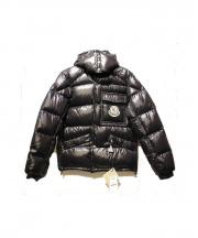MONCLER(モンクレール)の古着「フーデットダウンジャケット」|ブラック