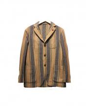 LARDINI(ラルディーニ)の古着「アンコンジャケット」|ベージュ