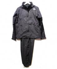 THE NORTH FACE(ザノースフェイス)の古着「セットアップレインウェア」|ブラック