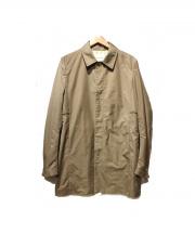 STILL BY HAND(スティルバイハンド)の古着「ステンカラーコート」|ベージュ