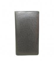 LOUIS VUITTON(ルイ・ヴィトン)の古着「フラップ長財布札入れ」|ブラック