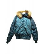 ALPHA(アルファ)の古着「N-2Bジャケット」|グリーン