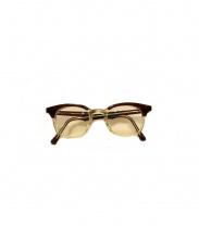 白山眼鏡店(ハクサンメガネテン)の古着「伊達眼鏡」|クリア×ブラウン