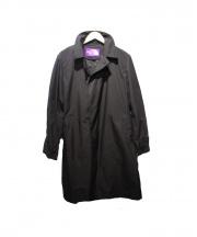 THE NORTHFACE PURPLELABEL(ザ・ノースフェイス パープルレーベル)の古着「ステンカラーコート」|ブラック