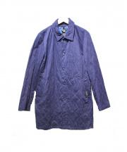 LAVENHAM×PLST(ラベンハム×プラステ)の古着「キルティングコート」|ネイビー