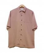 STUDIOUS(ステュディオス)の古着「オープンカラーシャツ」|ピンク