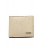 BLACK LABEL CRESTBRIDGE(ブラックレーベルクレストブリッジ)の古着「2つ折り財布」|グレー×ネイビー